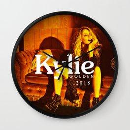 Kylie Minogue 2018 Wall Clock