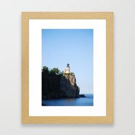 Split Rock Lighthouse Framed Art Print