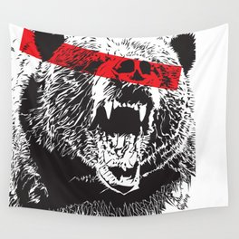 Bear me Wall Tapestry