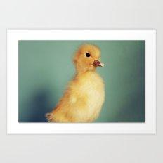 Ducky Art Print