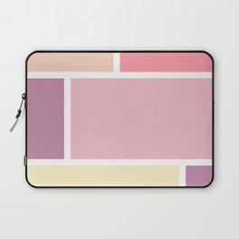 Big blocks soft colors Laptop Sleeve