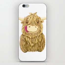 Wee Hamish Highland Cow iPhone Skin