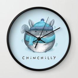 Chinchilly Wall Clock