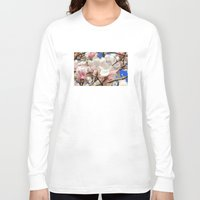 magnolia Long Sleeve T-shirts featuring  Magnolia. by Assiyam