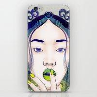 luna iPhone & iPod Skins featuring Luna by Stevyn Llewellyn