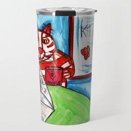 Kitty Cat Cafe Travel Mug
