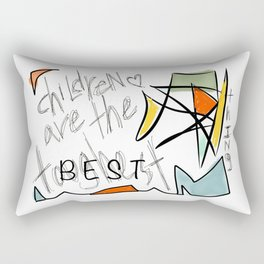 Children Are The Best Thing Rectangular Pillow