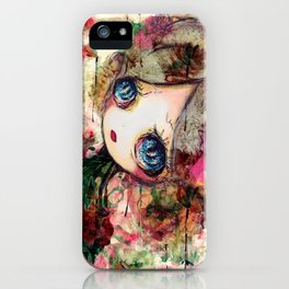 Creature in Bloom iPhone Case