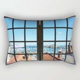 Through The Window Rectangular Pillow