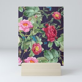 Rose garden Mini Art Print
