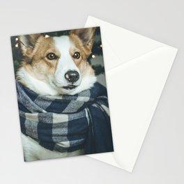Christmas Corgi 2 Stationery Cards