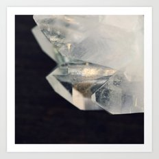 Crystal and Clear Art Print