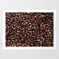 coffee bean Art Print