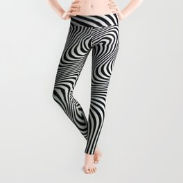 Tripped Leggings