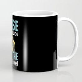 Penguin In Distress Coffee Mug