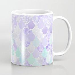 Mermaid Iridescent Purple and Teal Pattern Coffee Mug