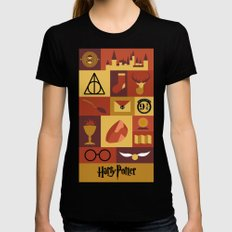 Potter SMALL Black Womens Fitted Tee