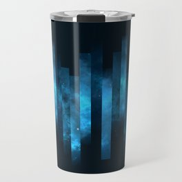 Deep Blue Watercolor Space Travel Mug