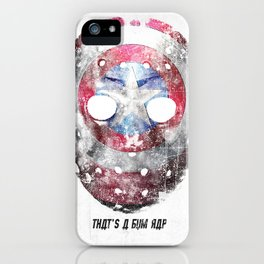 Yankee Mask iPhone Case
