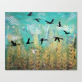 Fly for Fall Canvas Print