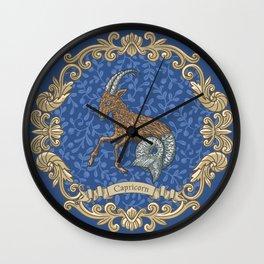 Vintage Astrology - Capricorn Wall Clock