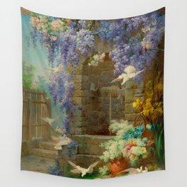 "Eugène Bidau ""The spring (Le printemps)"" (2) Wall Tapestry"