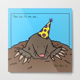 Mole Day Metal Print