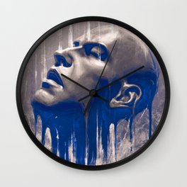 Raining  Wall Clock