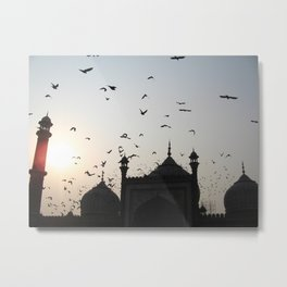 the flight home Metal Print