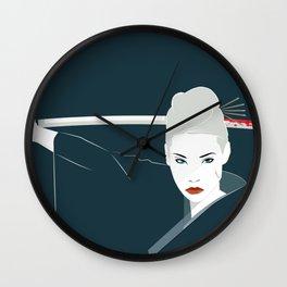 Katana Wall Clock