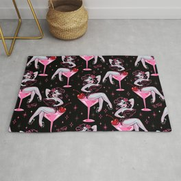 Cherry Martini Girl Rug