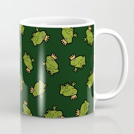 Frog Prince Pattern Coffee Mug