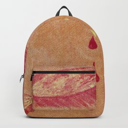Olga Denim Patch Backpack