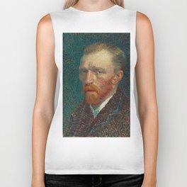 Vincent van Gogh Self-Portrait Biker Tank