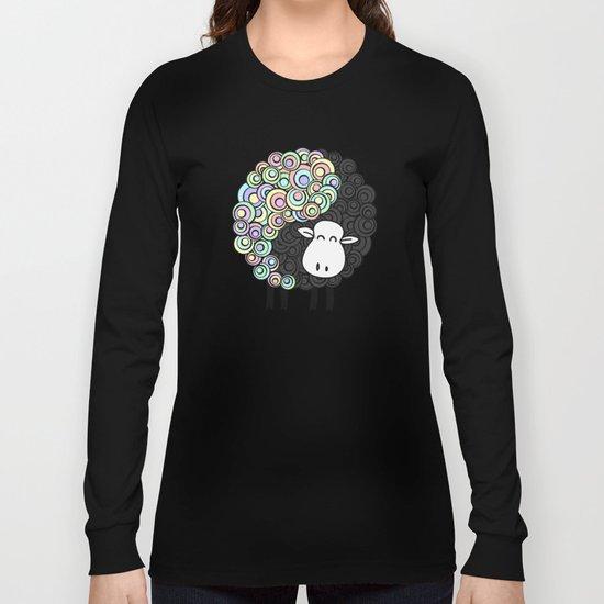 Yin Yang Sheep Long Sleeve T-shirt