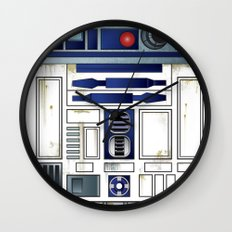 Plucky Droid Wall Clock