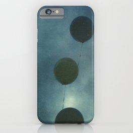 Dark Balloons iPhone Case