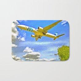 Airliner Pop Art Bath Mat