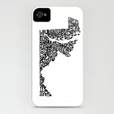 Typographic Maryland iPhone (4, 4s) Slim Case