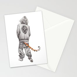 Fierce Attitude Stationery Cards