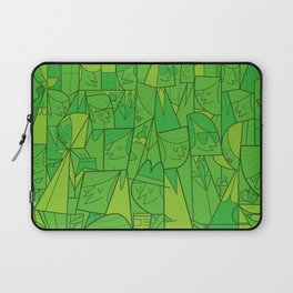 Citystreet (green version) Laptop Sleeve