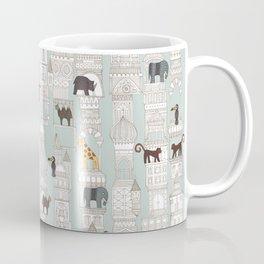 urban jungle silver mint Coffee Mug