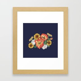 flower bouquet Framed Art Print