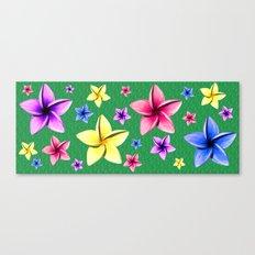 Flower Crazy Canvas Print