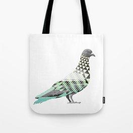 Tessellated Pigeon Tote Bag