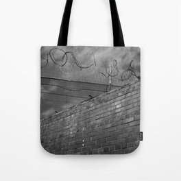 Brick and wire Tote Bag