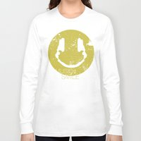 coldplay Long Sleeve T-shirts featuring Music Smile by Sitchko Igor