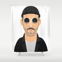 leon Shower Curtains featuring Leon by Capitoni