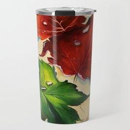 Platanus Leaves Travel Mug
