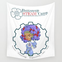 ButtercupSTEAM Locks Wall Tapestry